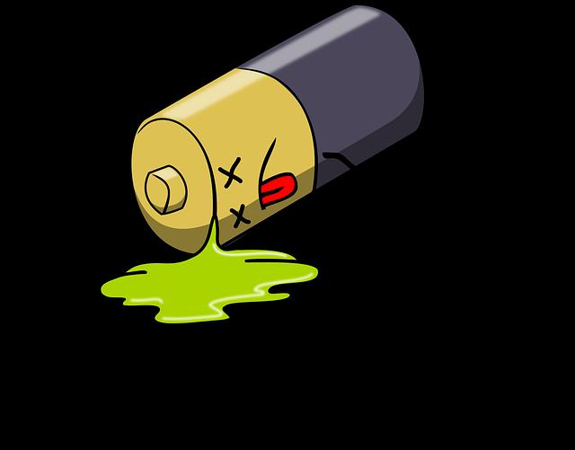 mrtvá baterie